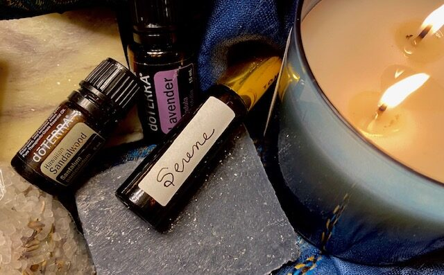 Serene - essential oils roller bottle